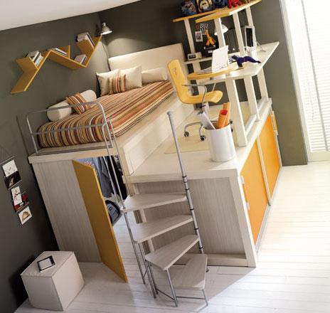 Tiramolla-kidsloftroom